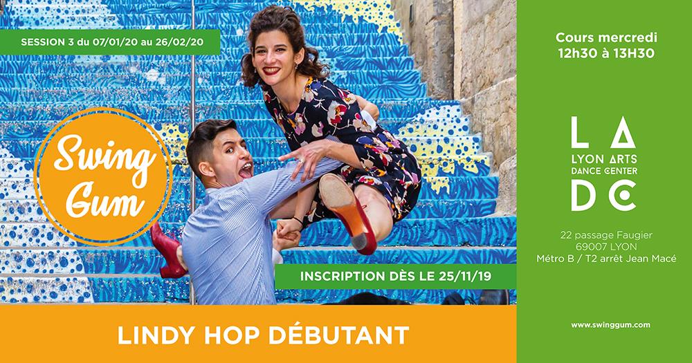 Swing gum cours lindy hop debutant LADC